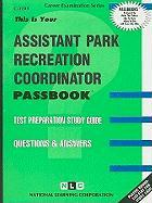 Assistant Park Recreation Coordinator