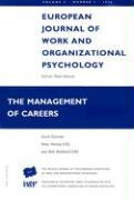 European Journal of Work and Organizational Psychology: The Management of Careers: Volume 5, Number 4