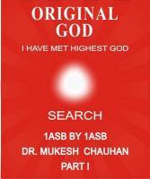 Original God- I Have Met Highest God- Search - Chauhan, Mukesh Chandubhai