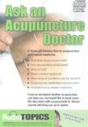 Ask an Acupuncture Doctor