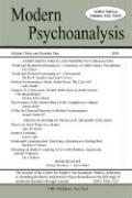 Modern Psychoanalysis, Volume 31, Number 1 - Center for Modern Psychoanalytic Studies