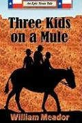 Three Kids on a Mule - Meador, William