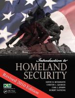 Introduction to Homeland Security: Revised 2010 Edition - McElreath, David H.; Quarles, Chester L.; Jensen, Carl