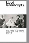 Lloyd Manuscripts - Lloyd, Howard Williams