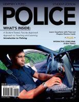 Police - Dempsey, John S.; Forst, Linda S.