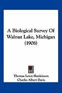 A Biological Survey of Walnut Lake, Michigan (1908) - Hankinson, Thomas Leroy