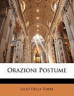 Orazioni Postume - Torre, Lelio Della