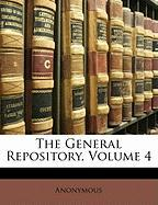 The General Repository, Volume 4 - Anonymous