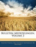 Bulletin: Mededelingen, Volume 3