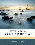 Letteratura Contemporanea - Mantovani, Dino