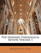The Harvard Theological Review, Volume 1