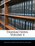 Transactions, Volume 4
