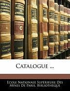 Catalogue ...