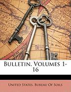 Bulletin, Volumes 1-16