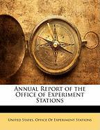 Annual Report of the Office of Experiment Stations