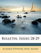 Bulletin, Issues 28-29