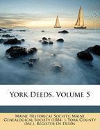 York Deeds, Volume 5