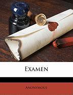 Examen - Anonymous