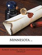 Minnesota .. - Denfeld, Robert Edward