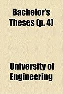 Bachelor's Theses (P. 4) - Engineering, University Of