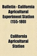 Bulletin - California Agricultural Experiment Station (155-180) - Station, California Agricultural