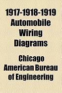 1917-1918-1919 Automobile Wiring Diagrams - American Bureau of Engineering, Chicago