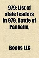 979: List of State Leaders in 979, Battle of Pankalia,