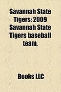 Savannah State Tigers: 2009 Savannah State Tigers Baseball Team,