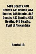 440s Deaths: 440 Deaths, 441 Deaths, 444 Deaths, 445 Deaths, 446 Deaths, 447 Deaths, 448 Deaths, 449 Deaths, Cyril of Alexandria
