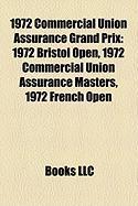 1972 Commercial Union Assurance Grand Prix: 1972 Bristol Open, 1972 Commercial Union Assurance Masters, 1972 French Open