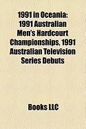 1991 in Oceania: 1991 Australian Men's Hardcourt Championships, 1991 Australian Television Series Debuts