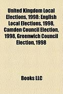 United Kingdom Local Elections, 1998: English Local Elections, 1998, Camden Council Election, 1998, Greenwich Council Election, 1998