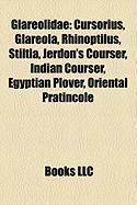 Glareolidae: Cursorius, Glareola, Rhinoptilus, Stiltia, Jerdon's Courser, Indian Courser, Egyptian Plover, Oriental Pratincole