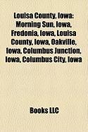 Louisa County, Iowa: Columbus Junction, Iowa