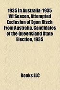 1935 in Australia: 1935 Vfl Season