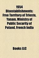 1954 Disestablishments: Yanam