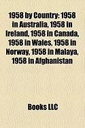 1958 by Country: 1958 in Australia