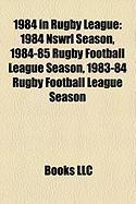 1984 in Rugby League: 1984 Nswrl Season