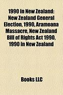 1990 in New Zealand: New Zealand General Election, 1990