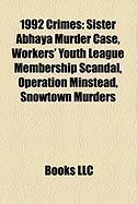1992 Crimes: Sister Abhaya Murder Case