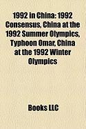 1992 in China: 1992 Consensus