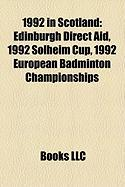 1992 in Scotland: Edinburgh Direct Aid