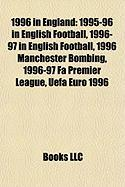 1996 in England: 1995-96 in English Football
