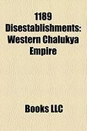1189 Disestablishments: Western Chalukya Empire