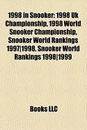 1998 in Snooker: 1998 UK Championship