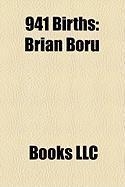 941 Births: Brian Boru