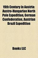 19th Century in Austria: German Confederation