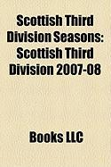 Scottish Third Division Seasons: Scottish Third Division 2007-08