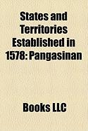 States and Territories Established in 1578: Pangasinan