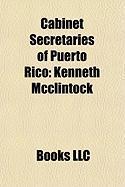 Cabinet Secretaries of Puerto Rico: Kenneth McClintock, Pedro Pierluisi, Antonio Sagarda, Javier Rivera Aquino
